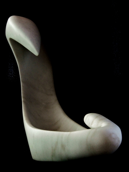 Birth of a Guin, 3, Colorado Yule Marble by Martin Cooney