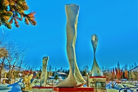 Cat Walk, 9, Colorado Yule Marble by Martin Cooney