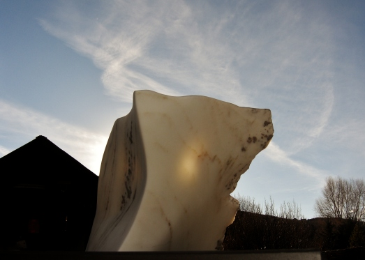Mabel, Spirit of the Stone, 3, Colorado Yule Marble by Martin Cooney