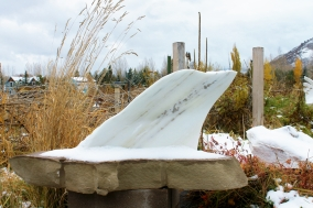 Mabel, Spirit of the Stone, 9e, Colorado Yule Marble by Martin Cooney