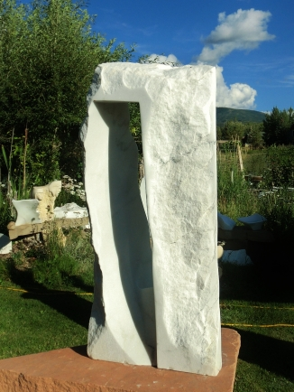 Oblique Perspective, 5, Colorado Yule Marble by Martin Cooney