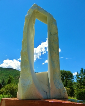 Oblique Perspective, 6, Colorado Yule Marble by Martin Cooney