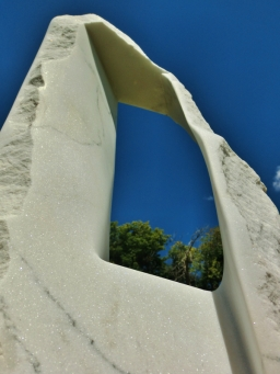 Oblique Perspective, 7, Colorado Yule Marble by Martin Cooney