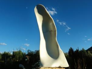 Pilgrim, 1, Colorado Yule Marble by Martin Cooney