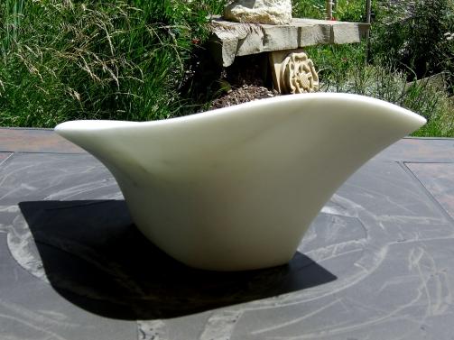 Sparrow, 3, Colorado Yule Marble by Martin Cooney