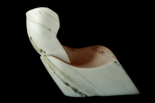 Swan Wave, 1, Colorado Yule Marble by Martin Cooney