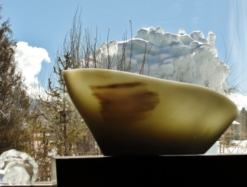 Titanic, Woody Creek, Colorado Yule Marble Sculpture by Martin Cooney