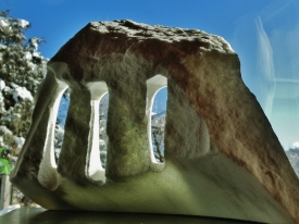 Troglodyte Cloister, 3, Colorado Yule Marble by Martin Cooney
