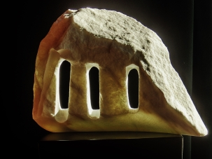 Troglodyte Cloister, 7, Colorado Yule Marble by Martin Cooney