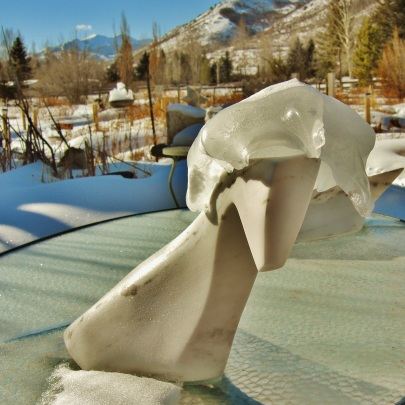 Troy, Colorado Yule Marble Sculpture by Martin Cooney