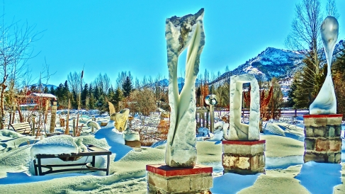 Wolf Man Jack, 1, Colorado Yule Marble by Martin Cooney