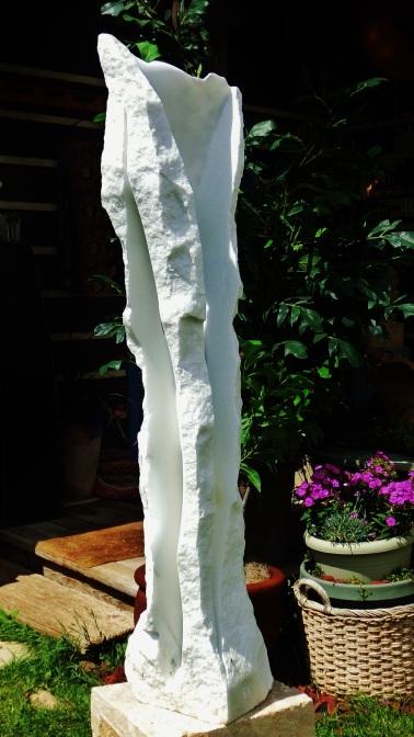 Wolf Man Jack, Woody Creek, Colorado Yule Marble by Martin Cooney